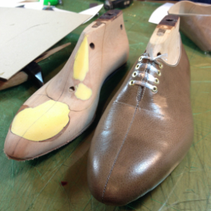 仮縫い靴で安心のイメージ