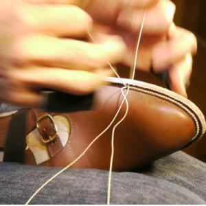本格的手縫い靴のイメージ